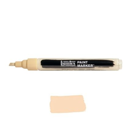 Liquitex Paint marker 2-4mm Unbleached titanium